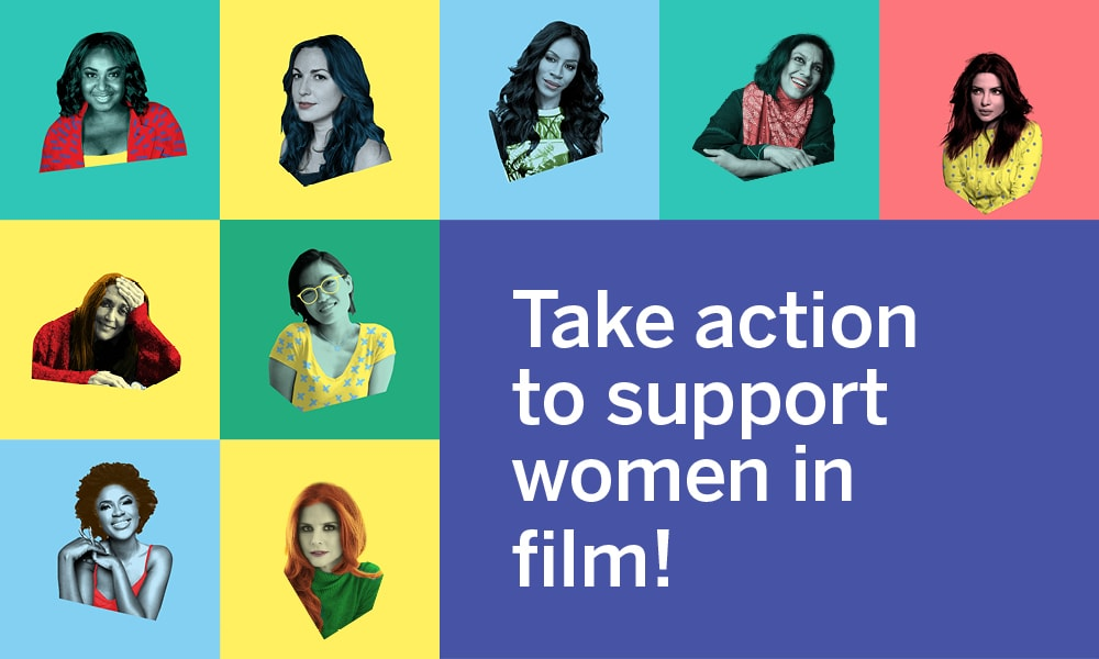Take Action to support woman in film