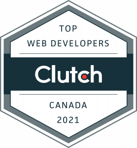 Top Web Developer 2021: Clutch Award